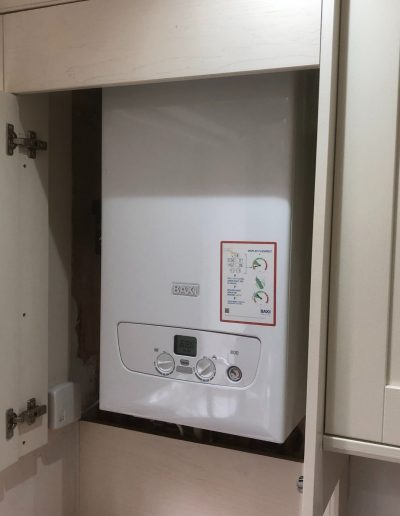 Boiler Gallery - After A New Baxi Boiler Is Installed - Freeflow heating and plumbing
