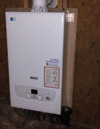 Boiler Gallery - Baxi boiler loft installation - Freeflow heating and plumbing