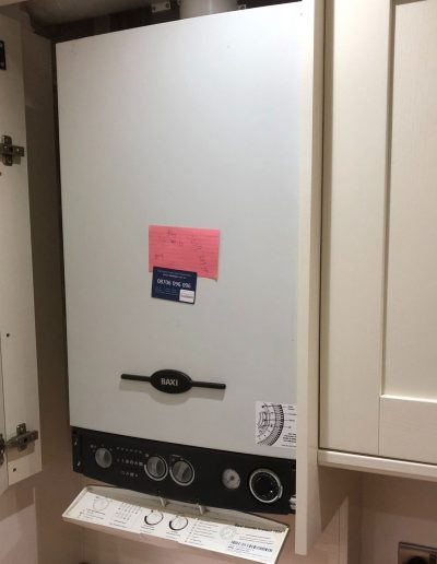 Boiler Gallery - Before A New Baxi Boiler Is Installed - Freeflow heating and plumbing