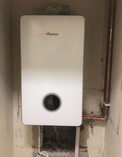 Boiler Gallery - Brand new green Worcester boiler - Freeflow heating and plumbing