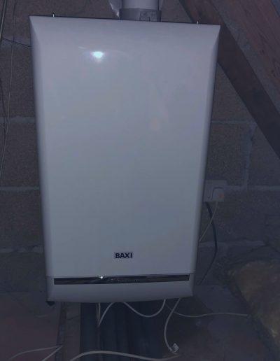 Boiler Gallery - Smooth Baxi Loft Installed Boiler - Freeflow heating and plumbing