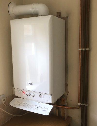 Boiler Gallery - White Baxi boiler - Freeflow heating and plumbing