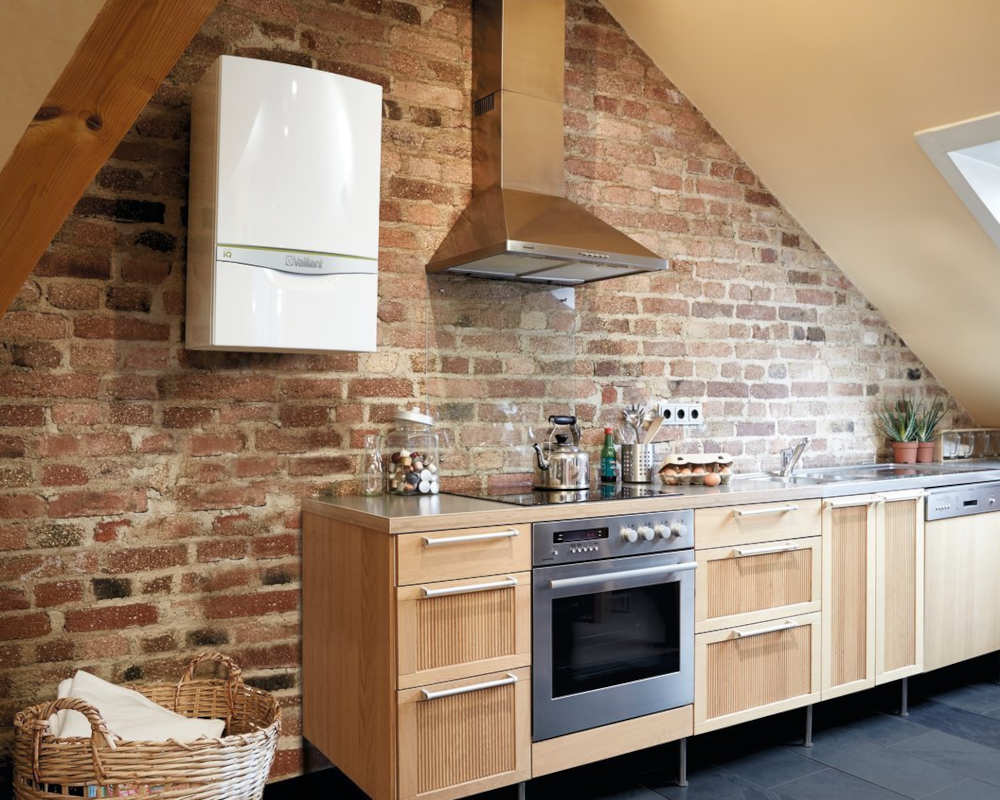 Boiler Servicing Plymouth - Kitchen Scene - Freeflow Plumbing and Heating