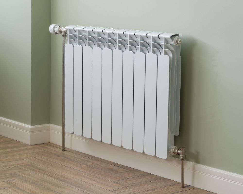 Central Heating Installation Plymouth - Radiator in lounge - Freeflow Plumbing and Heating
