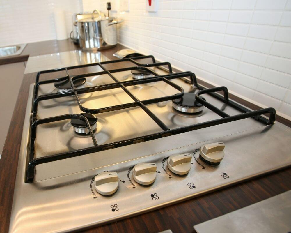 Gas Appliance Installation Plymouth - Gas hob rings - Freeflow Plumbing and Heating