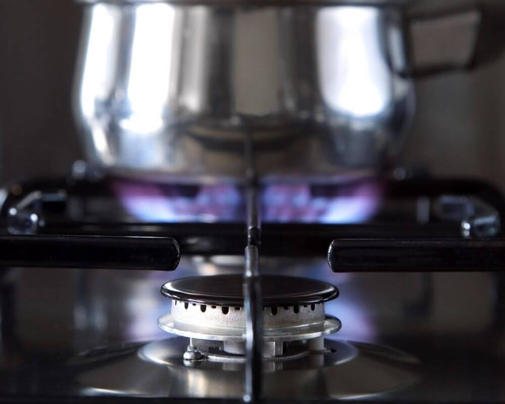 Gas Appliance Installation Plymouth - pan on the hob - Freeflow Plumbing and Heating