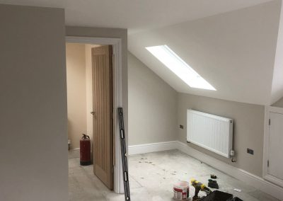Heating and plumbing gallery - New build with newly installed radiators - Freeflow heating and plumbing