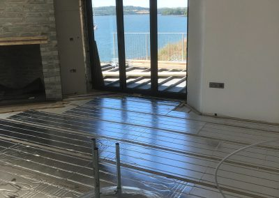 Heating and plumbing gallery - Newly Installed underfloor heating 2 - Freeflow heating and plumbing