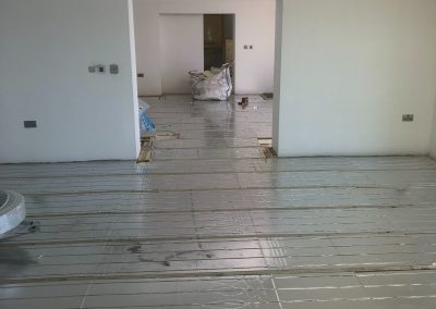 Heating and plumbing gallery - Newly Installed underfloor heating - Freeflow heating and plumbing