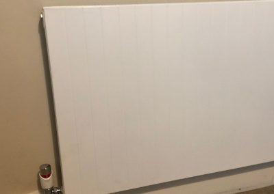 Heating and plumbing gallery - large white flat modern radiator - Freeflow heating and plumbing