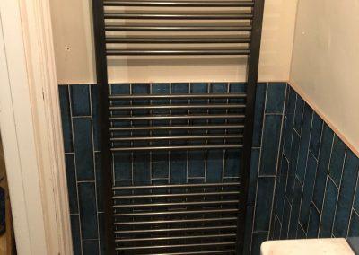 Heating and plumbing gallery - tall heated towel rack - Freeflow heating and plumbing