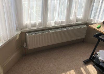 Heating and plumbing gallery - wide under window radiator - Freeflow heating and plumbing