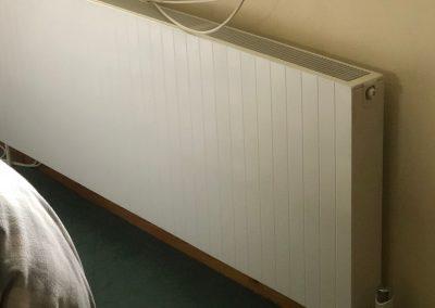 Heating and plumbing gallery - wide white standard modern radiator - Freeflow heating and plumbing