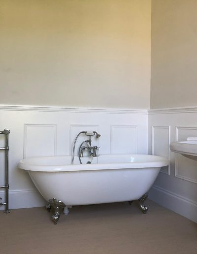 Kitchen and Bathroom Installations gallery - free standing bathtub and new bathroom fixtures - Freeflow heating and plumbing