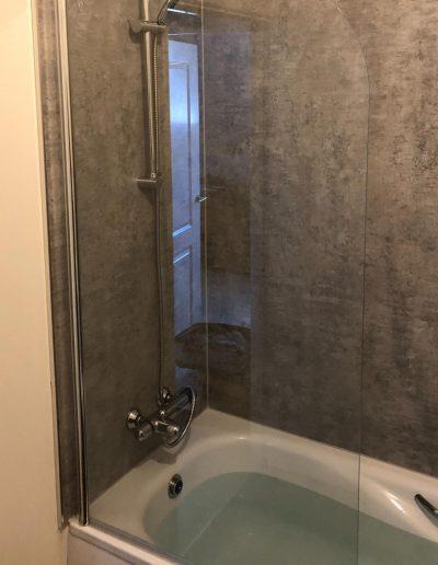 Kitchen and Bathroom Installations gallery - new modern bathtub installations - corner angle - Freeflow heating and plumbing