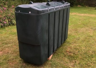 freeflow plumbing on site gallery - large green storage container - Freeflow heating and plumbing